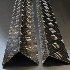 Aluminium Chequer plate Angles and Corner Guards