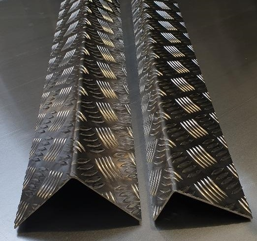 Aluminium Chequer Plate Angles