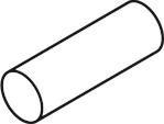 White Acetal Bars