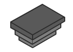 End Caps for Rectangular Box Section