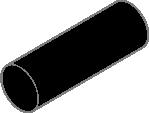 Black Acetal Round Bars